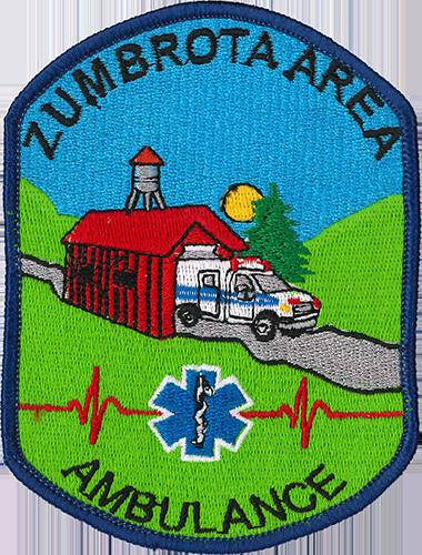 Zumbrota Ambulance Patch